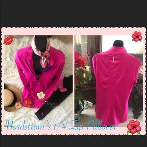 NWT Nordstrom's 1/4 Zip Pullover long sleeve